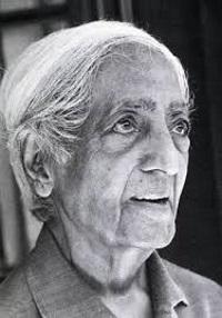 Krishnamurti im Alter