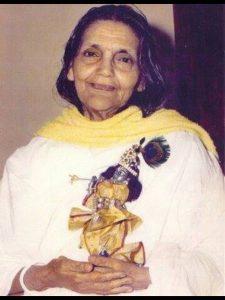 Anandamayi Ma im Alter