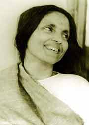 Die lachende Anandamayi Ma