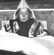 Dalai Lama als Kind