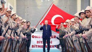 Recep Erdogan, Rabia-Handgeste