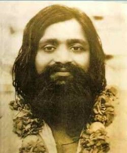 Maharishi als junger Mann