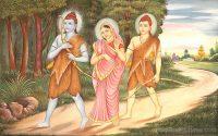 Rama, Sita, Lakshmana_mygodpictures.com