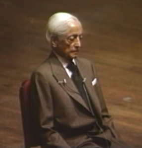 Krishnamurti in Washington_youtube.com
