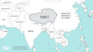 Tibet_Karte