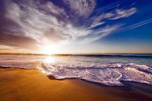 Ozean-Bild von David Mark auf pixabay