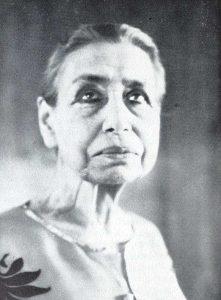 Mirra Alfassa im hohen Alter-wikipedia