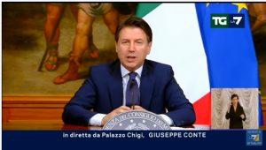 Giuseppe Conte-Screenshot youtube