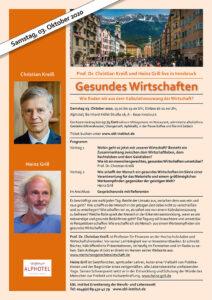 Innsbruck-Prof.Dr.Christian Kreiß, Heinz Grill