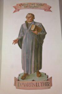Luther-Bild von Hans Braxmeier auf pixabay