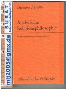 Analytische Religionsphilosophie, Hermann Schrödter